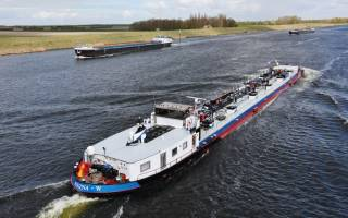 Stimulating inland shipping succesfull