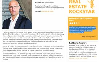Invest in Zeeland's Erwin van der Meer is Spryg Real Estate Rockstar