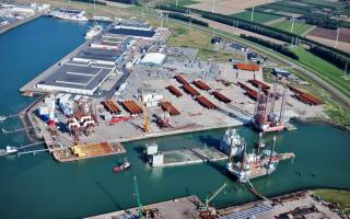 MHI Vestas Sets Up Base at BOW Terminal Vlissingen