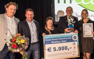 Meatless wins Zeeland Pioneers Award 2020
